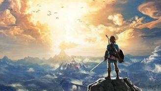 Cartel oficial del juego The Legend of Zelda