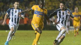 Enner Valencia y Jonathan González, en la Final de Ida
