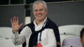 Javier Aguirre, en las gradas del Hazza Bin Zayed Stadium