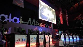 El escenario principal vivió emocionantes partidas de distintos videojuegos