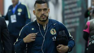 Miguel Samudio llega al Estadio Azteca