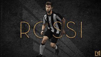 Rossi, presentado como jugador de Los Angeles FC
