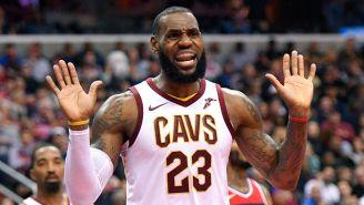 LeBron James festeja triunfo de Cavaliers