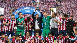 Chivas celebra el título del Clausura 2017
