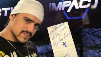 Garza Jr. previo a una función de Impact