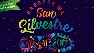 Flyer de la carrera San Silvestre 2017