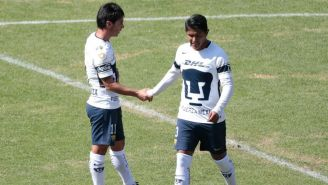 Matías Alustiza festeja su gol frente a Alebrijes de Oaxaca