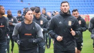 Edu Vargas Y Gignac, durante la pretemporada con Tigres