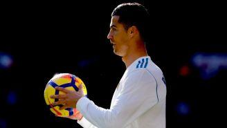 Cristiano Ronaldo, durante el partido contra el Barcelona