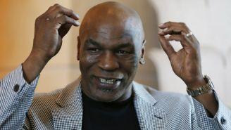 Tyson, durante una entrevista