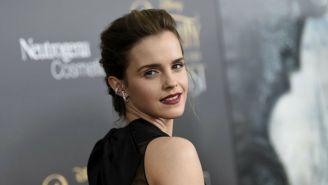Emma Watson, en la alfombra roja de la película 'Beauty and the Beast'