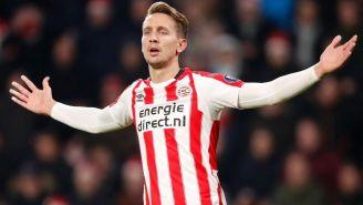 De Jong reclama en un juego con el PSV