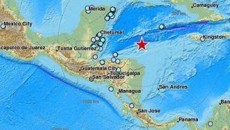 Zonas en donde se percibió el sismo