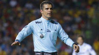 Fernando Hernández, durante un partido en el Apertura 2017