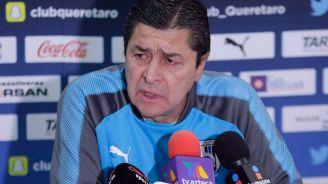 Luis Fernando Tena, en conferencia de prensa