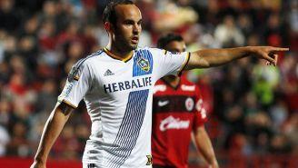 Donovan en un partido del LA Galaxy