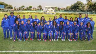Presentación de las jugadores del Cruz Azul Femenil para el C2018