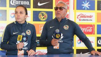 Ana Galindo y Leonardo Cuéllar, en conferencia de prensa