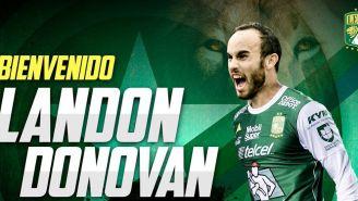 Imagen de León en redes para dar la bienvenida a Donovan