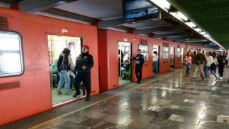 Vagón de la L3 del Metro de la Ciudad de México