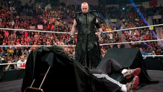 Undertaker durante un evento de la WWE