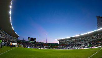 El Nou Camp previo a un partido de León