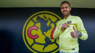 Jérémy Ménez porta con orgullo los colores de las Águilas