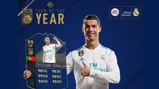 Cristiano Ronaldo, la figura del Equipo del Año