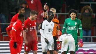 Ochoa tras la victoria del Standard de Lieja