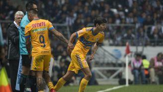 Damm ingresa de cambio en un juego del Apertura 2017