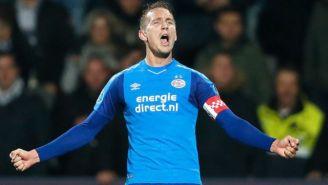 De Jong grita su gol contra Heracles