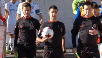 Árbitros del juego entre Yébenes y el Alcobendas Sport
