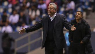 Víctor Manuel Vucetich, en su era como técnico de Gallos en 2017