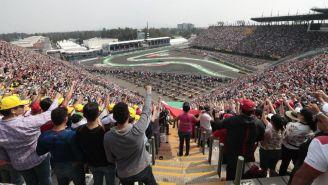 Aficionados disfrutan del Gran Premio de México 2017