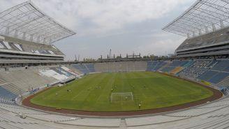 Estadio Cuauhtémoc previo a un duelo