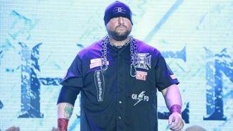 Bully Ray  contempla a los fans antes de subir al ring