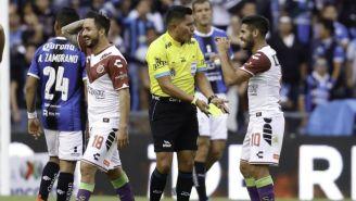 Fernando Guerrero, en el juego entre Gallos y Veracruz del C2018