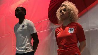 Así lucen las nuevas camisetas de Inglaterra
