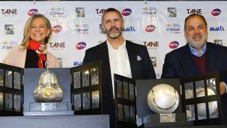 La presentación de los trofeos de AMT