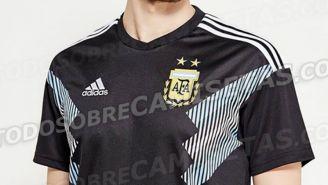 Así sería la playera alternativa de Argentina en Rusia