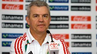Javier Aguirre, en su paso con la Selección Mexicana