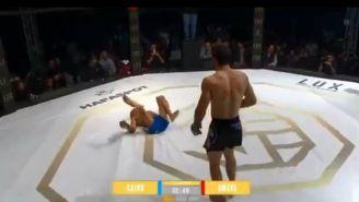 Irving Amaya pelea contra José Calvo en Lux Fight League CDMX