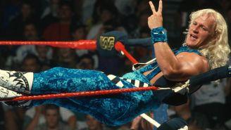 Jeff Jarrett previo a una lucha en la WWE