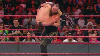 Braun Strowman le aplica una contralona a The Miz