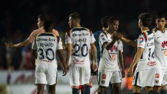 América después del empate con Veracruz