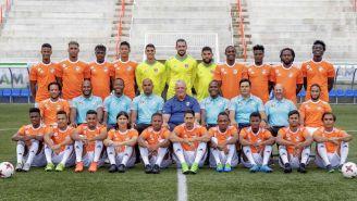 El Cibao FC posa en la foto oficial