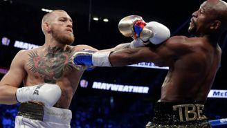 Conor McGregor pelea con Mayweather