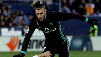 Gareth Bale, disputa un juego con el Real Madrid