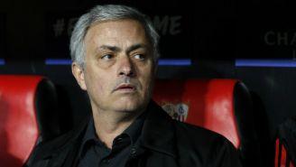 Jose Mourinho, durante el encuentro contra Sevilla