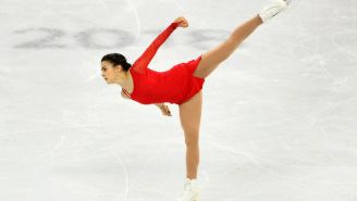 Ivett Toth, durante su actuación en Pyeongchang 2018